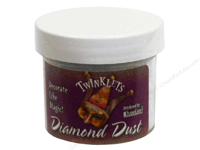 FloraCraft Foam Twinklets Diamond Dust 3 oz