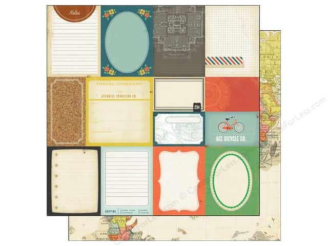 Crate Paper 12 x 12 in. Paper Story Teller Accent Cuts (25 sheets)