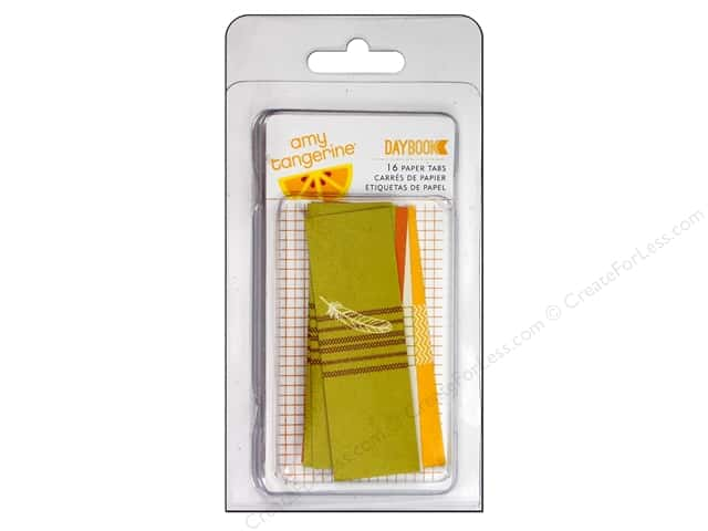 American Crafts Paper Adhesive Tabs Amy Tangerine Daybook