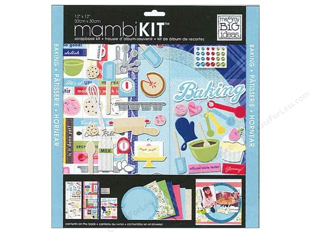 Me & My Big Ideas 12 x 12 in. Scrapbook Kit Baking