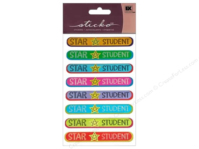 EK Sticko Stickers Repeats Star Student