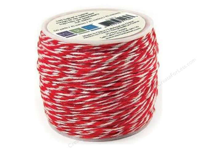 We R Memory Keepers Sew Easy Baker's Twine 50 yd. Red