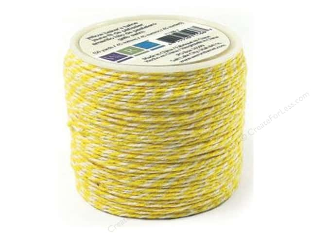 We R Memory Keepers Sew Easy Baker's Twine 50 yd. Yellow