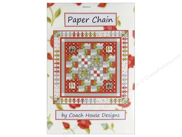 Coach House Designs Paper Chain Pattern