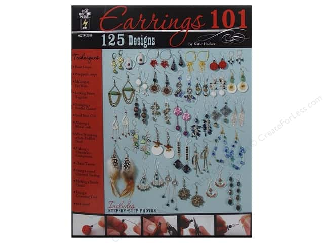 Hot Off The Press Earrings 101 Book