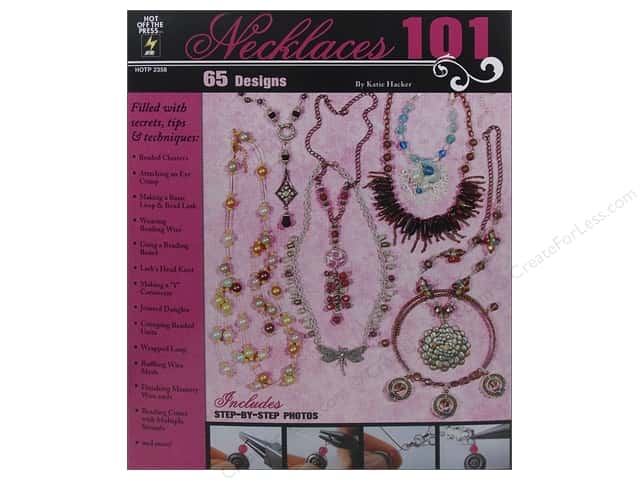 Hot Off The Press Necklaces 101 Book