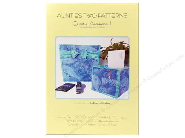 Aunties Two Essential Accessories I Pattern