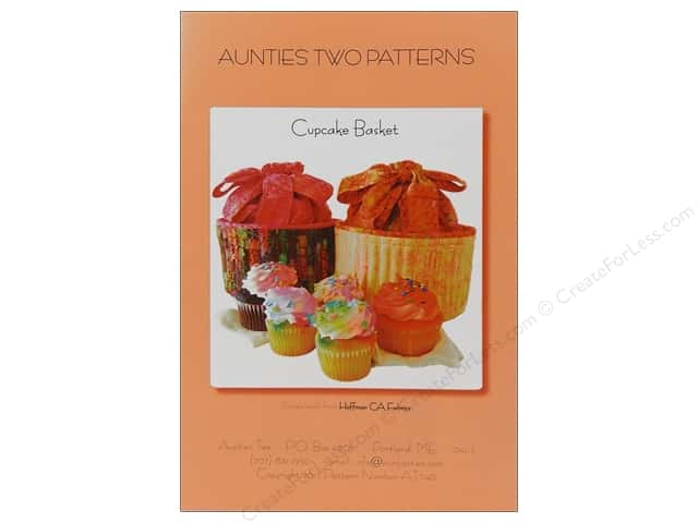 Aunties Two Cupcake Basket Pattern
