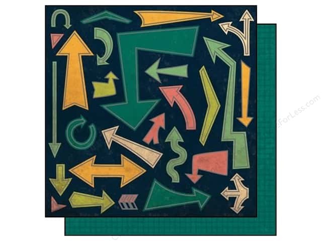 """SEI Paper 12""""x 12"""" Mayberry Foil Boogie Woogie (25 sheets)"""
