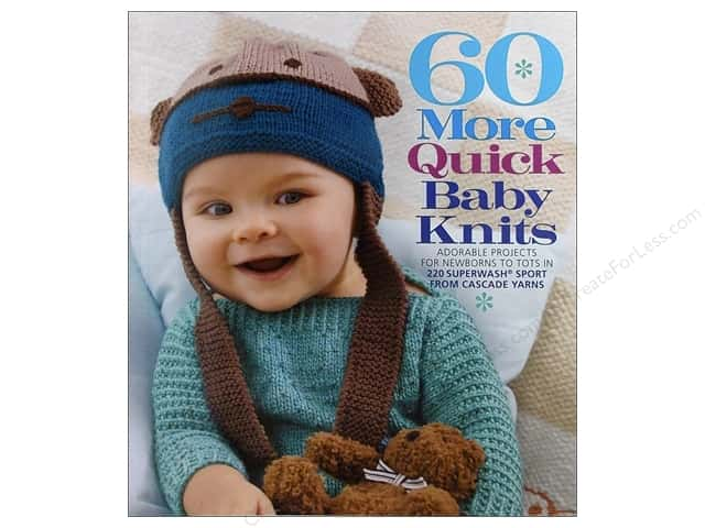 Sixth & Spring 60 More Quick Baby Knits Book