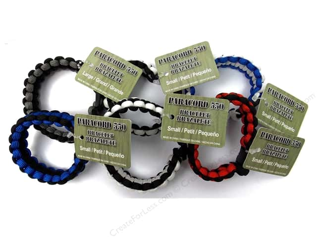 Pepperell Parachute Cord Accessories Bracelet Men's Assorted