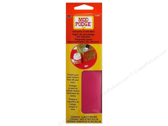 Plaid Mod Podge Tools Silicone Craft Mat