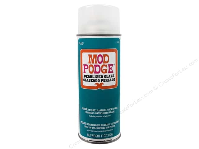 Plaid Mod Podge Spray Sealer Pearlized Glaze 11oz