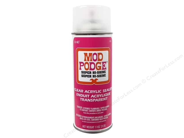 Plaid Mod Podge Acrylic Sealer 11 oz. Super Gloss