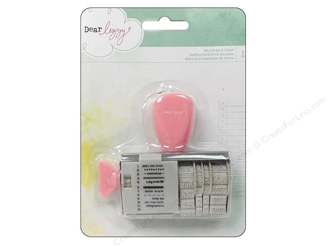 American Crafts Roller Date Stamp Dear Lizzy Neapolitan