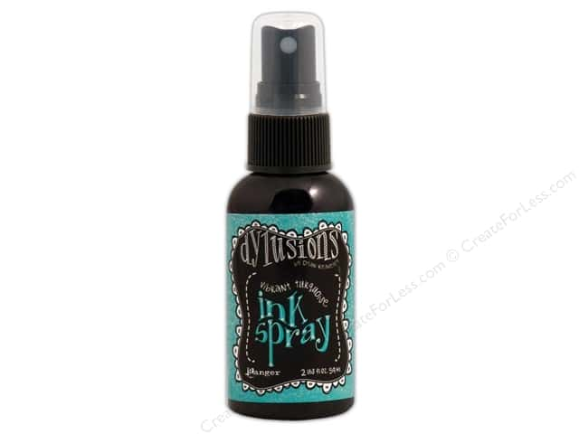 Ranger Dylusions Ink Spray 2 oz. Vibrant Turquoise