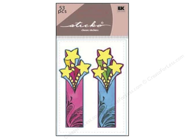 EK Sticko Sticky Flags Shooting Star