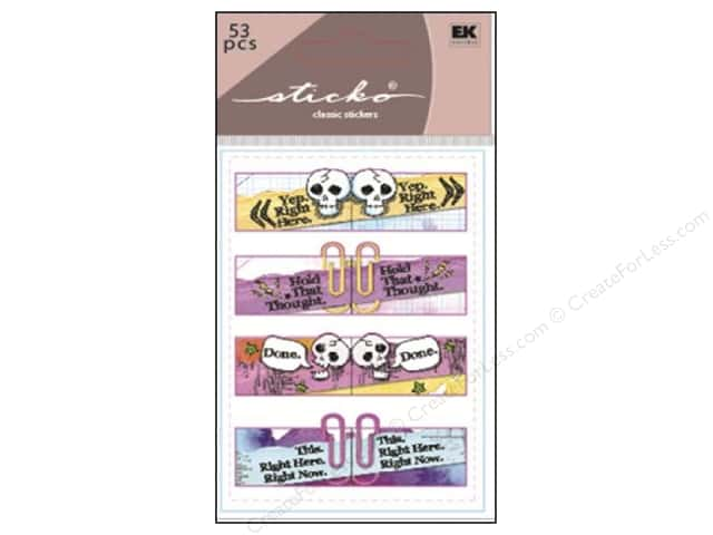 EK Sticko Stickers Index Tabs Watercolor