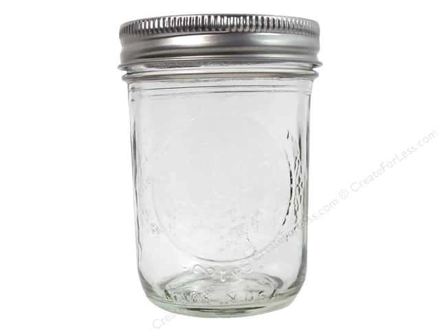 Ball Mason Jars 8 oz. Half Pint Regular Mouth (12 jars)
