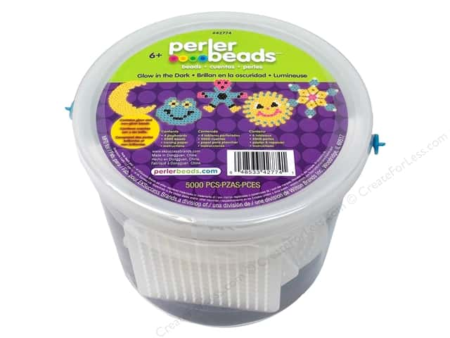 Perler Activity Bucket Glow In The Dark