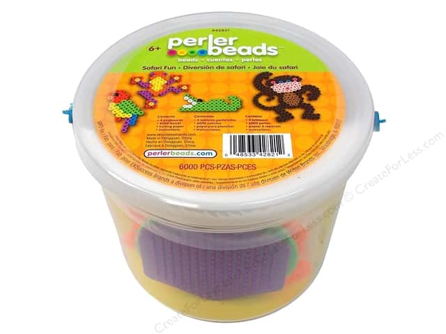 Perler Activity Bucket Safari Fun
