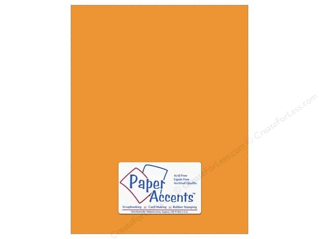 Paper Accents Cardstock 8 1/2 x 11 in. #10151 Stash Builder Textured Butternut (25 sheets)