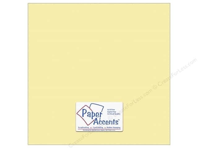 Paper Accents Cardstock 12 x 12 in. #10142 Stash Builder Textured Alfredo (25 sheets)
