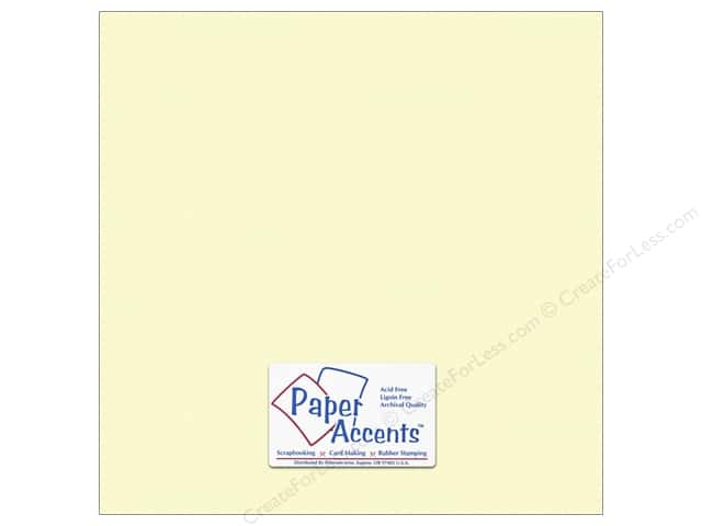 Paper Accents Cardstock 12 x 12 in. #10161 Stash Builder Textured Citronella (25 sheets)