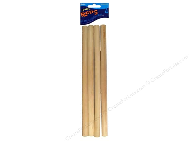 Darice Wood Dowels 12 x 5/8 in. 4 pc.