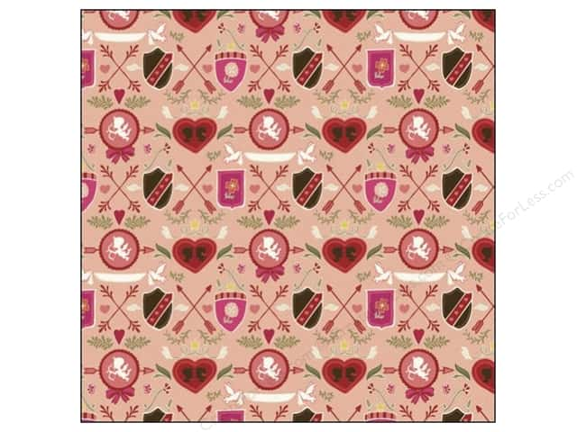 K&Company 12 x 12 in. Paper Cupid Collection Shields (25 sheets)
