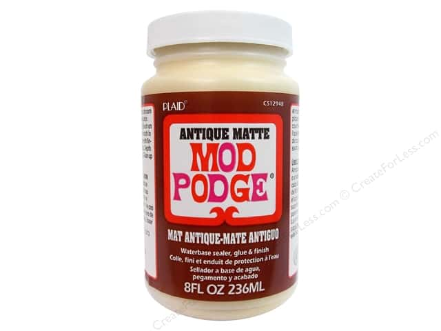 Plaid Mod Podge 8 oz. Antique Matte