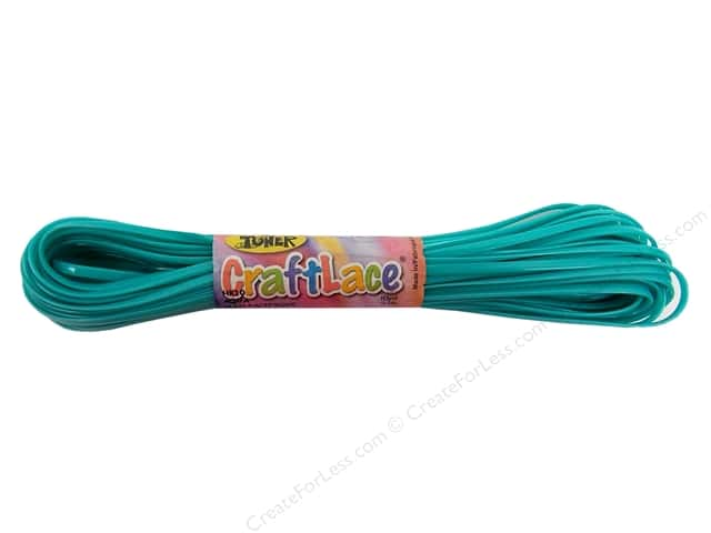 Toner Craft Lace 10 yd. Aqua