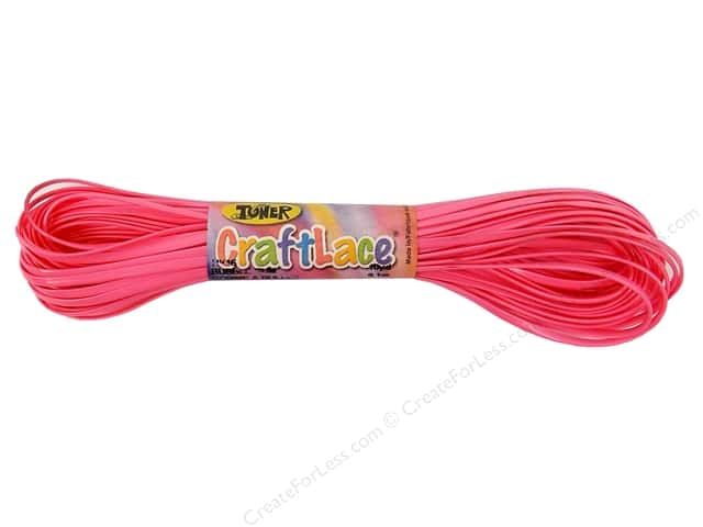 Toner Craft Lace 10 yd. Bubble Gum