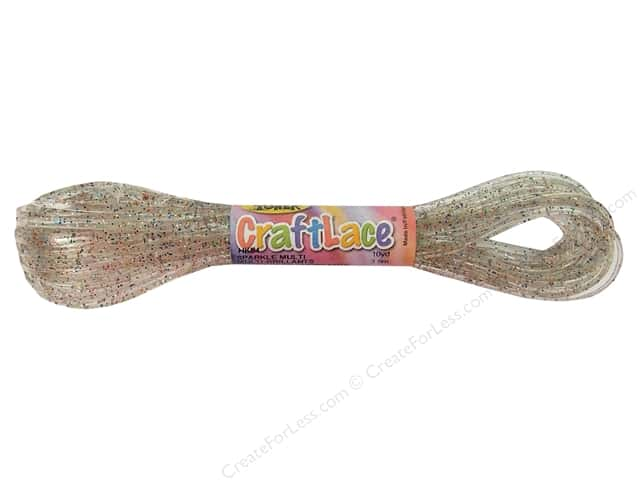 Toner Craft Lace 10 yd. Sparkling Multi