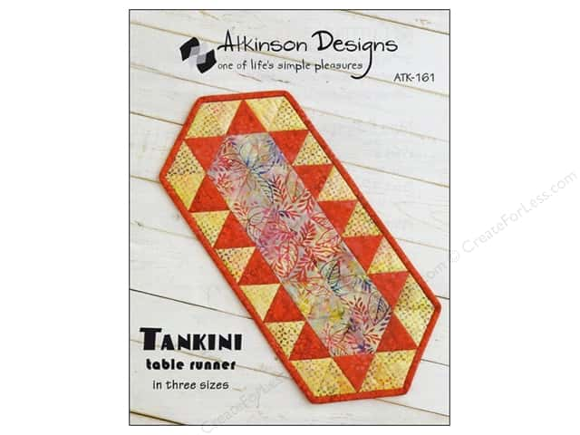 Atkinson Designs Tankini Table Runner Pattern