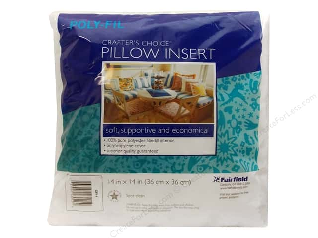 "Fairfield Pillow Form Crafters Choice 14"" Square"