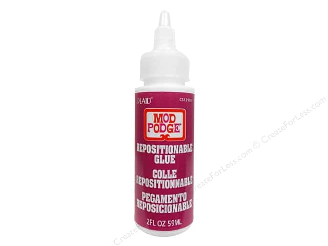 Plaid Mod Podge Repositional Glue 2oz
