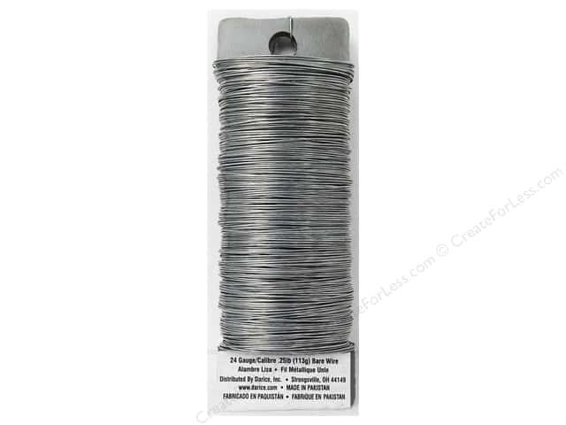 Darice Paddle Wire 24 Gauge Bare 110 ft.
