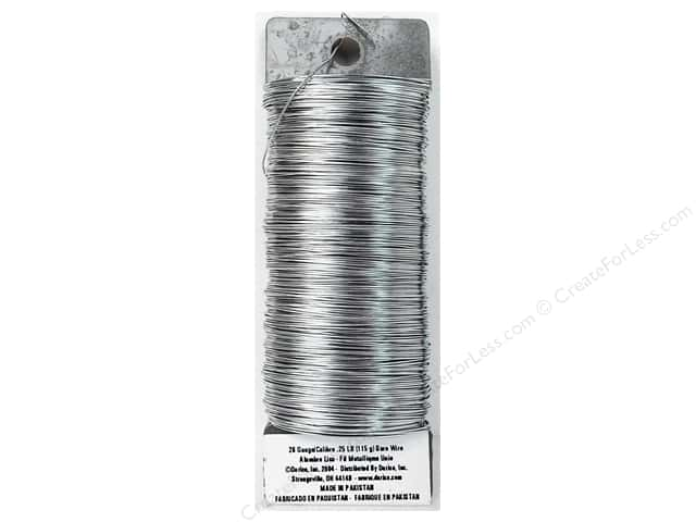Darice Paddle Wire 26 Gauge Bare 110 ft.