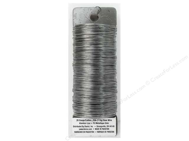 Darice Paddle Wire 28 Gauge Bare 110 ft.