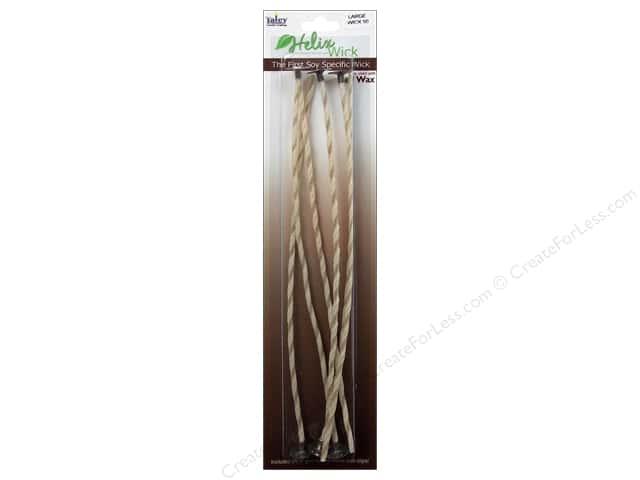 Yaley Helix Wick & Clip 9 in. 6 pc. Size 50 Large