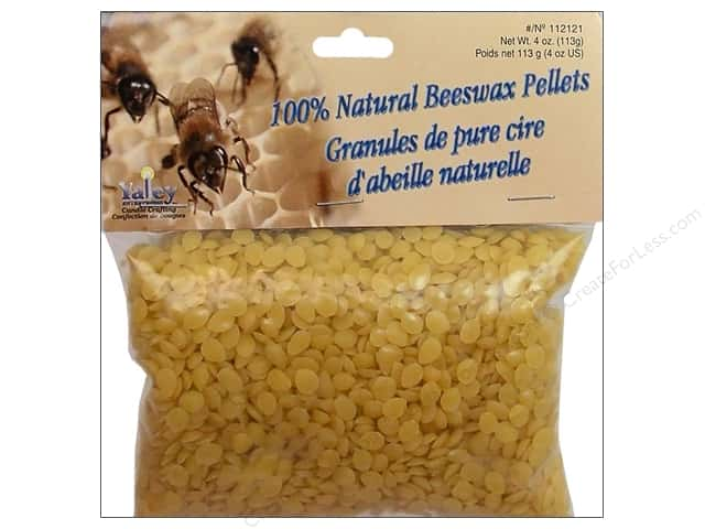 Yaley Wax Beeswax 100% Pellets 4oz Natural
