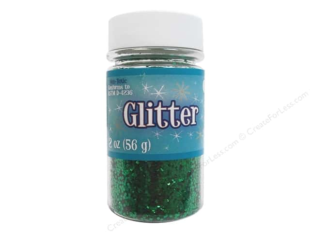 Sulyn Glitter 2 oz. Kelly Green