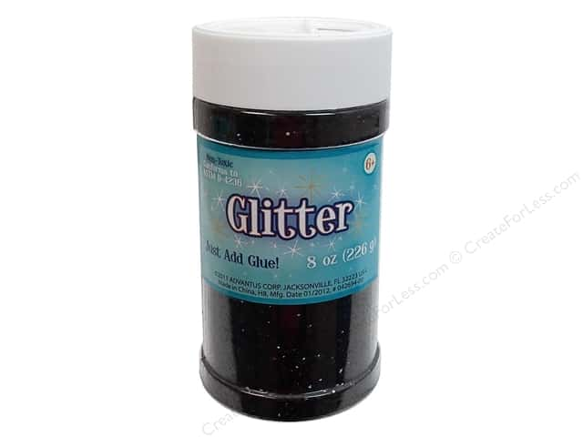 Sulyn Glitter 8 oz. Black