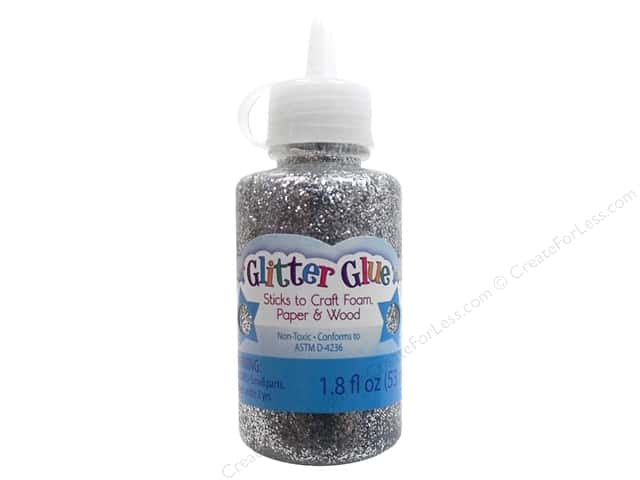 Sulyn Glitter Glue 1.8 oz. Silver