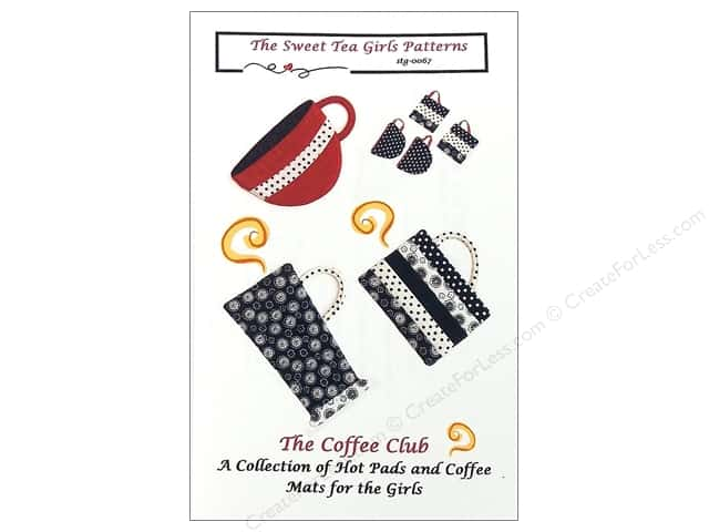 Sweet Tea Girls Coffee Club Pattern
