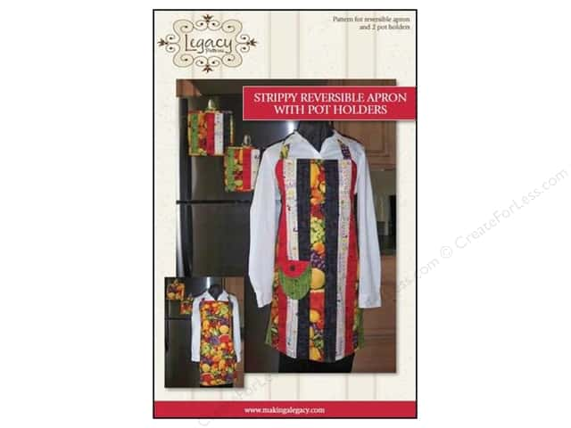Legacy Strippy Reversible Apron Pattern