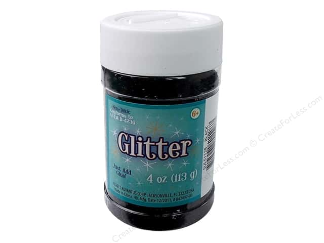 Sulyn Glitter 4 oz. Black