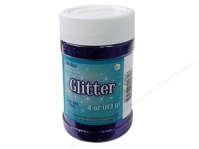 Sulyn Glitter 4 oz. Purple