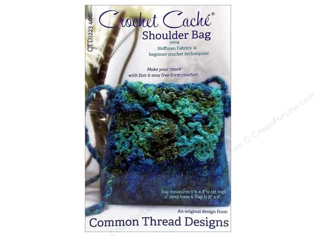 Common Thread Designs Crochet Cache Shoulder Bag Pattern